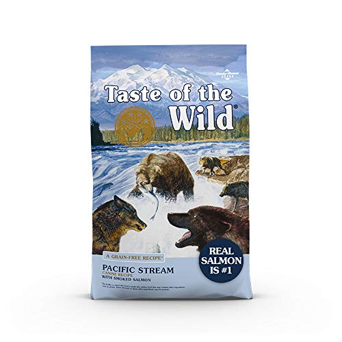 Taste of the Wild Pacific Stream Canine Grain-Free Recipe with Smoked Salmon Adult Dry Dog Food, Vitamins and...