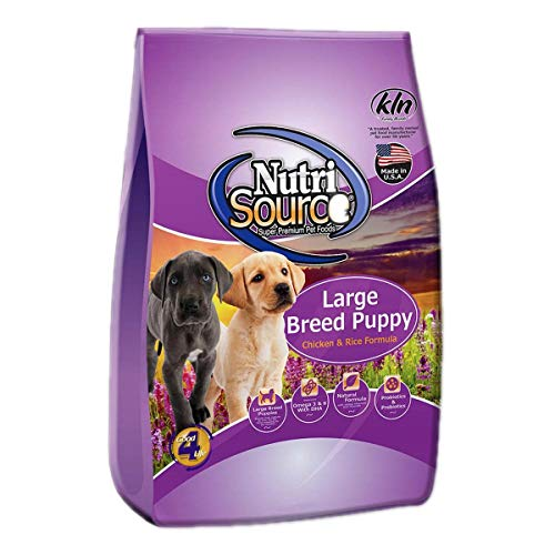 Nutrisource Large Breed Puppy Chicken &Amp; Rice Formula Dry Dog Food, 6.6-Lb Bag