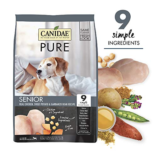 CANIDAE Pure Senior Recipe, Limited Ingredient Grain Free Premium Dry Dog Food