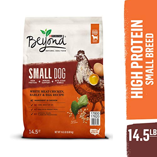Purina Beyond Natural, High Protein Small Breed Dry Dog Food, Chicken, Barley & Egg Recipe - 14.5 lb. Bag