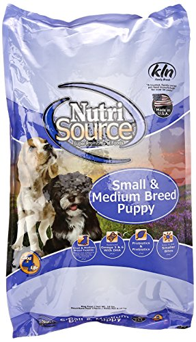 Nutrisource, Dry Dog Food, Small Breed Puppy Chicken & Rice Formula, 18 Lb