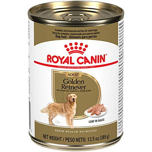 Royal Canin Golden Retriever Adult Breed Specific Wet Dog Food, 13.5 oz. can (Pack of 12)