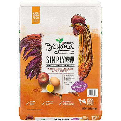 Purina Beyond Grain Free, Natural Dry Dog Food, Grain Free White Meat Chicken & Egg Recipe - 13 lb. Bag