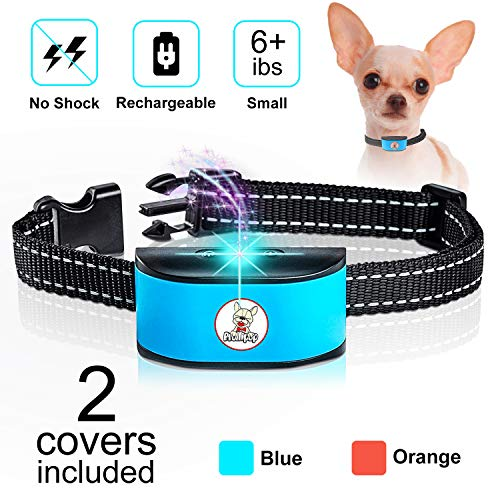 Prollipop Small Dog Bark Collar Rechargeable - Anti Barking Collar for Small Dogs - Smallest Most Humane Stop Barking...