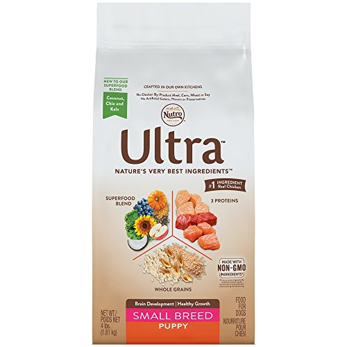 Nutro Ultra Small Breed Puppy Dry Dog Food 4 Pounds (Discontinued By Manufacturer)