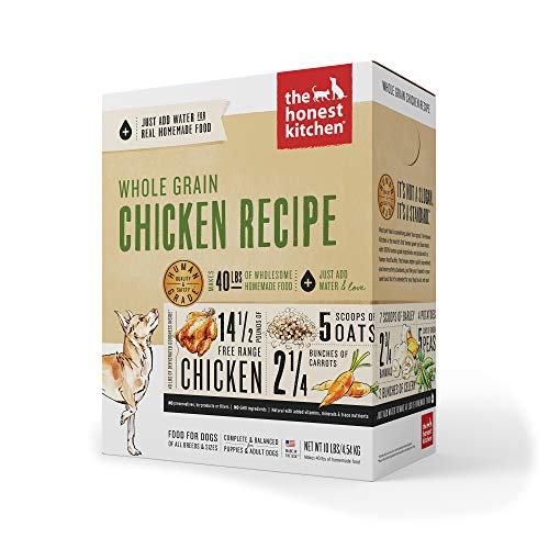 The Honest Kitchen Revel Chicken & Whole Grain Dog Food - 10 lb
