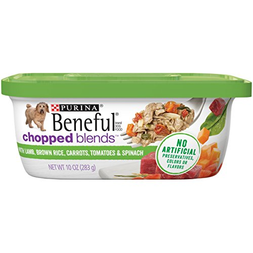 Purina Beneful Wet Dog Food, Chopped Blends With Lamb - (8) 10 oz. Tubs, BENEFUL CHOPPED BLENDS Lmb Crt
