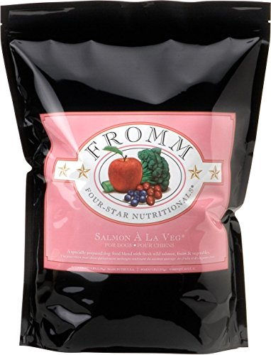 Fromm Four-Star Salmon A La Veg Dog Food, 30 Lb