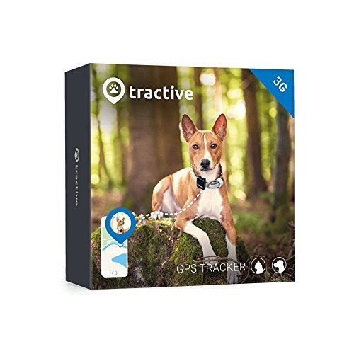 Tractive 3G GPS Dog Tracker – Dog Tracking Device with Unlimited Range