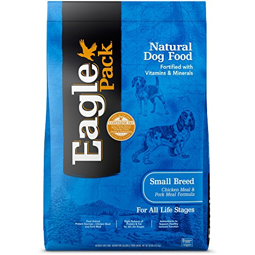 Eagle Pack Natural Dry Small Breed Dog Food, Chicken & Pork, 30-Pound Bag